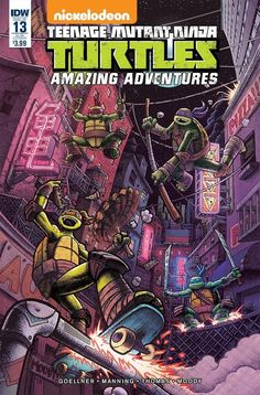 Teenage Mutant Ninja Turtles Amazing Adventures #13 SUB Cover