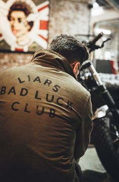 """gentlemanstravels:""""Liars Bad Luck Club"""" - Best Fashions for All Modern Gentleman, Gentleman Style, Harley Davidson, Rocker Look, Bike Shed, Its A Mans World, Dog Wear, Mode Outfits, Trendy Outfits"""
