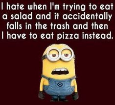 Fun can change your dull and bore mood. After the hectic routine, every man requires some mesmerize and quality time. Funny pictures minions are laughable characters which can make your day. Here are 26 Funny Pictures minions Funny Minion Memes, Minions Quotes, Funny Texts, Funny Jokes, Minion Humor, Funny Food, Funny Logic, Minions Minions, Funny Picture Quotes