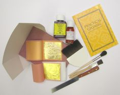 Genuine Gold Professional Gilding Kit - With Pratical Gilding