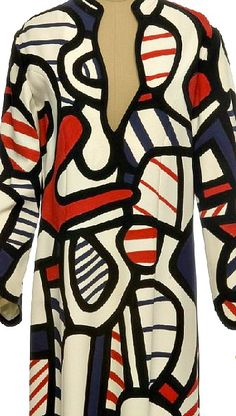 Dress by Jean Dubuffet, 1973