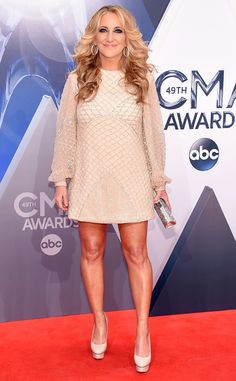 Lee Ann Womack from 2015 CMA Awards Red Carpet Arrivals | E! Online