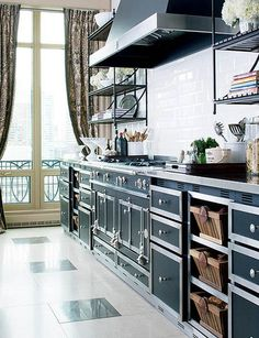 Amazing Stove.....  Expensive Eye Candy: La Cornue Ranges Kitchen Inspiration