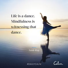 Life is a dance. Mindfulness is witnessing that dance. Meditation Quotes, Mindfulness Meditation, Guided Meditation, Spiritual Enlightenment, Spiritual Wisdom, Spirituality, Spiritual Awakening, Catchy Captions, Daily Calm