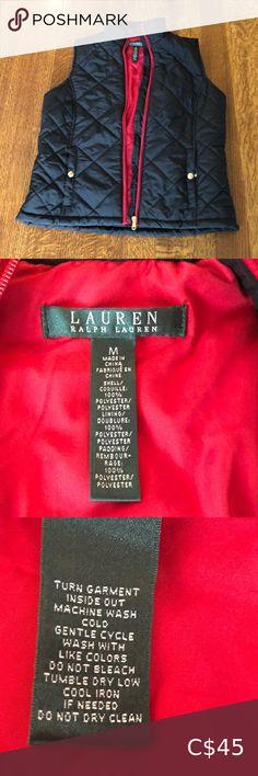 Ralph Lauren Quilted Vest Worn once Ralph Lauren Jackets & Coats Vests Plus Fashion, Fashion Tips, Fashion Design, Fashion Trends, Ralph Lauren Jackets, Quilted Vest, Vests, Jackets For Women, Coat
