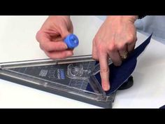 CHA 2015 - We R Memory Keepers - Banner Punch Board - YouTube