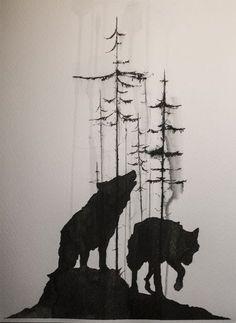 Sense the Wolf on Behance: