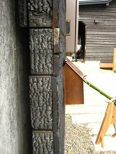 update on sumika project by sou fujimoto, toyo ito, terunobu fujimori and taira nishizawa Wood Siding, Exterior Siding, Japanese Architecture, Architecture Details, Black Building, Ancient Japanese Art, Sou Fujimoto, Charred Wood, Lord