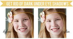 Tutorial   Erasing Dark Under-Eye Shadows