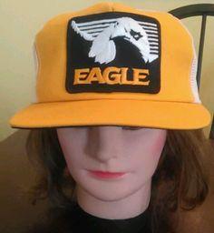 Vintage Eagle Co. Snapback Truckers Hat NWOT