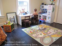 Montessori Play & Learning Space