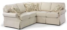 Flexsteel Furniture: Sectionals: JenningsFabric Sectional (5960-Sect)