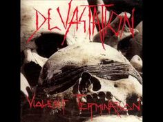 DEVASTATION - Violent Termination ◾ (album 1987, US thrash metal)