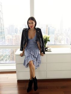 A week of outfits straight from the closet of freelance stylist and Jade Swim designer Brittany Kozerski.