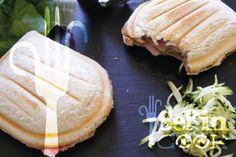 Croque-courgettes au Kiri et jambon, une petite merveille pour le déjeuner ! #Kiri #recette #gourmand #croque #monsieur #lunch #fromage #cream #cheese #sandwich