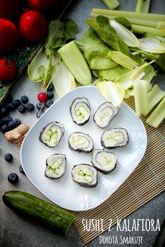 Sushi z kalafiora - dieta dr Dąbrowskiej