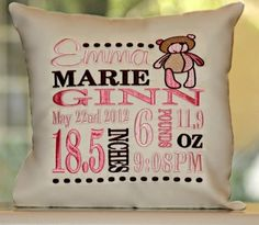 How sweet is this?? What a perfect gift idea for someone welcoming a new baby *hint hint* lol