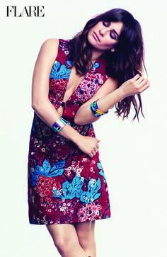 Lea Michele for Flare Magazine