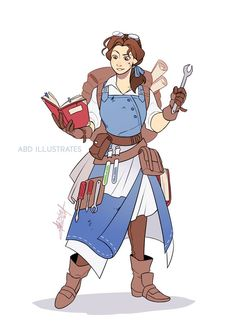 Turned a bunch od Disney Heroes into DnD characters By ABD-Illustrates on Deviantart Character Design Cartoon, Fantasy Character Design, Character Design Inspiration, Character Concept, Character Art, Disney Love, Disney Magic, Disney Art, Dnd Characters