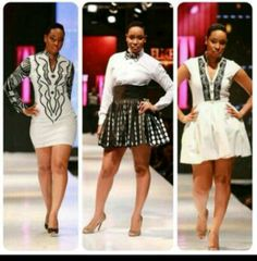 Black m white I'm in love with all outfits African Fashion Designers, African Print Fashion, Fashion Prints, African Prints, African Dresses For Women, African Wear, African Women, African Style, Star Fashion