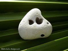 Hearts in a heart shaped rock.