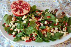 salat med granatæble