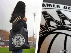 Tasche + ne Handvoll Sticker = 10 € http://shop.knipser.koeln  #groundhopping #stadion #fußball #ground