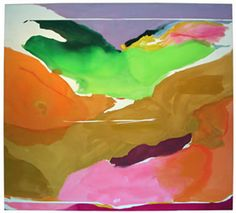 Helen Frankenthaler Nature Abhors a Vaccum 1973 Abstract Expressionism/ Lyrical Abstraction/ Color Field Helen Frankenthaler, Famous Abstract Artists, Abstract Painters, Famous Artists, Abstract Landscape, National Gallery Of Art, Art Gallery, Nature Abhors A Vacuum, Brian Froud
