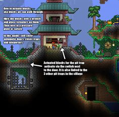 Very Simple Building Tricks For Novice Players Gaming Terraria House Ideas Terrarium