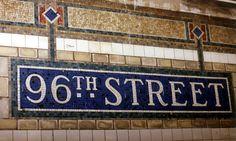 96th Street subway mosaic mural