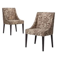 Target furniture kitchen & dining furniture dining chairs & benches    $229.99  Cutback Dining Chairs - Set of 2 - Floral Espresso