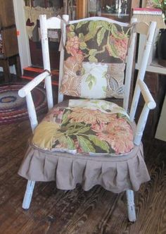 Re Styled Chair Using Upholstery Ss