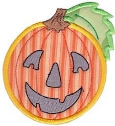 Smiley Face Halloween Applique 10 - 2 Sizes! | What's New | Machine Embroidery Designs | SWAKembroidery.com Bunnycup Embroidery