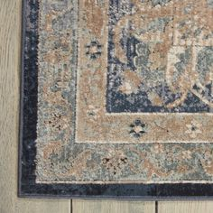 Darby Home Co Clarkedale Navy Area Rug Farmhouse Rugs, Vintage Farmhouse, Farmhouse Decor, Teal Area Rug, Beige Area Rugs, Farm Rugs, Solid Oak Coffee Table, Casual Dining Rooms, Living Room Area Rugs