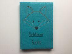 """DIN A4 - Filznotizbuch DIN A4 """"Fuchs"""" - ein Designerstück von Strassfee bei DaWanda"""