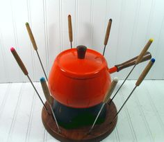 Had to have a fondue set in the 70's! Especially when you lived in America's Dairyland.
