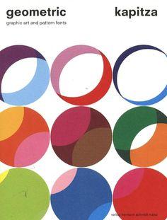Book cover: Geometric art and pattern fonts, Kapitza