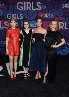 Lena, Zosia, Allison, and Jemima: It's a Tie