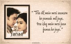 50 Of The Best Shayaris From Bollywood That Will Speak Straight To Your Soul First Love Quotes, Soulmate Love Quotes, Love Quotes For Him, Love Song Lyrics Quotes, Music Quotes, Poetry Quotes, Hindi Quotes, Love Lines For Her, Conversation Quotes