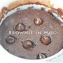 brownie in mug
