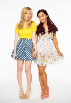 """Jennette and Ariana are """"Sam & Cat."""""""