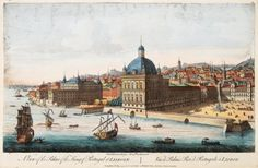 Lisbon before The Great Earthquake 1755, Engravings