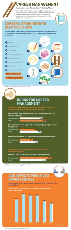 How do today's workers manage their careers?