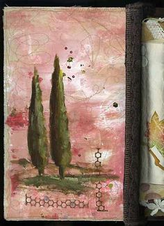 art journal collage - by dj pettitt, via Flickr