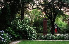 Rose Hill is a historic garden estate and  The Stables Restaurant In charming Downtown Aiken, SC.
