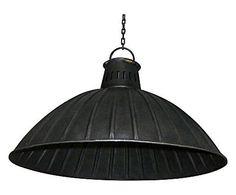 Einzigartiges Loft-Flair: Lampenschirm Theon, Metall, Ø 49 cm