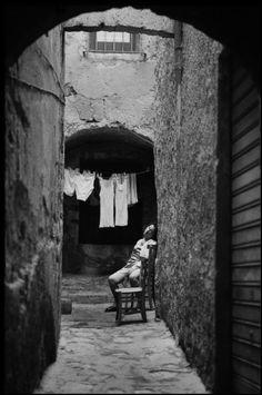 Ferdinando Scianna ITALY, Sicily, Mazara del Vallo.1962
