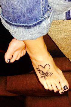 Blue jeans and heart tattoo | Tattoomagz.com › Tattoo Designs / Ink-Works…