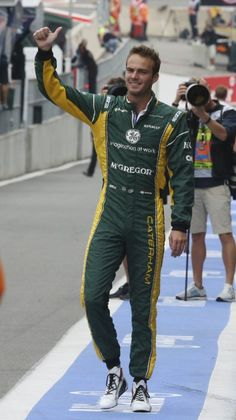 Caterham Pilot Giedo Van Der Garde of the Netherlands @ Spa-Francorchamps circuit, Belgium, for the 2013 F1 GP