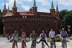Sightseeing Bike Tour of Krakow Our tour meets in the largest medieval square in Europe, the main market square of Krakow. After an introduction on Krakow's origins we lead our guests to our shop to equip each person with their own Beachcruiser bike. Our tour takes you through a time warp of history and architecture, where you will find remnants of a history over 2000 years old.We bike pass a 900 year old market before riding along the Planty gardens to the Jaggiloninan Univer...